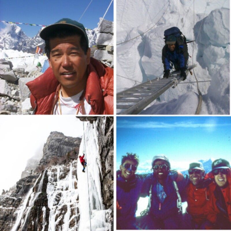 Stacy has climbed Denali several times and has also climbed some world's tallest mountain peaks including Everest.