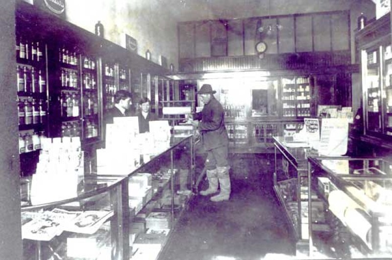 A photo of Peninsula drug and two employees who may have contributed to buying the watch.