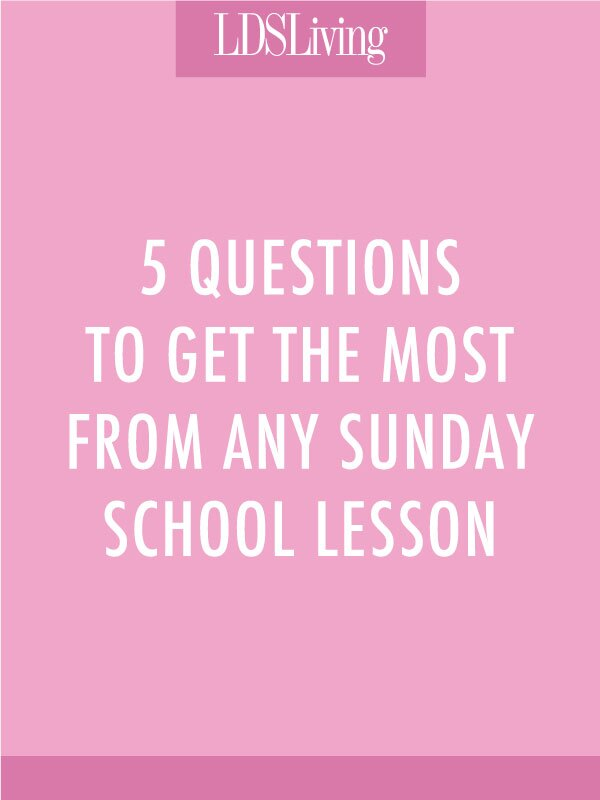 We are used to different styles of teaching in the Church because we emphasize the doctrine rather than the ability of whoever happens to be teaching. But we can learn something from every teacher and get something out of every lesson with these five questions to ask ourselves during Sunday School.