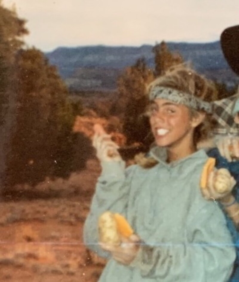 Cody while on the survival camp in southern Utah.