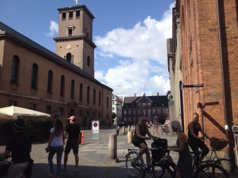 Sister Linda K. Burton's visiting Copenhagen, Denmark, where her great-great-grandfather, Joseph, spent his childhood.