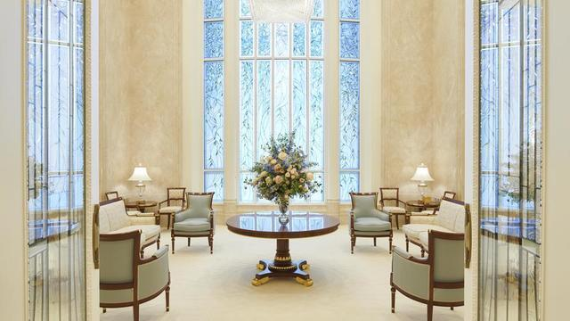 Celestial room in the Rome Italy Temple.