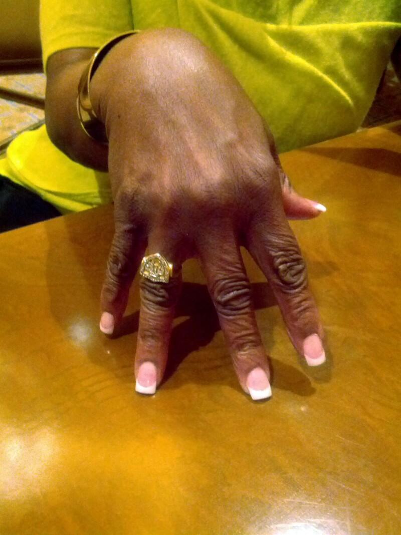 Gladys Knight's CTR ring