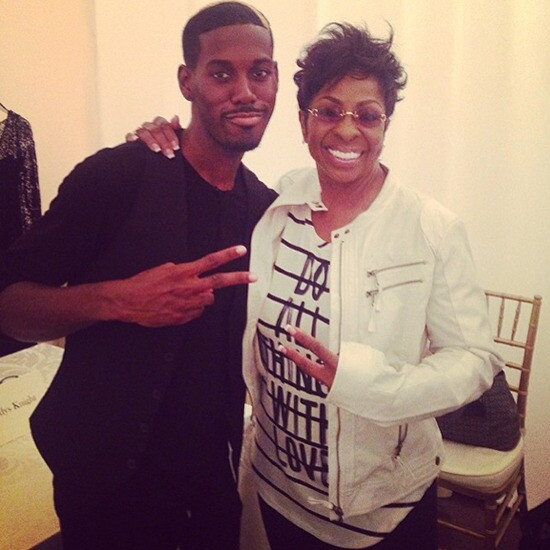 Gladys Knight and protege Avehre
