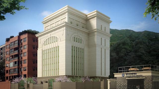 Rendering of the Hong Kong China Temple.