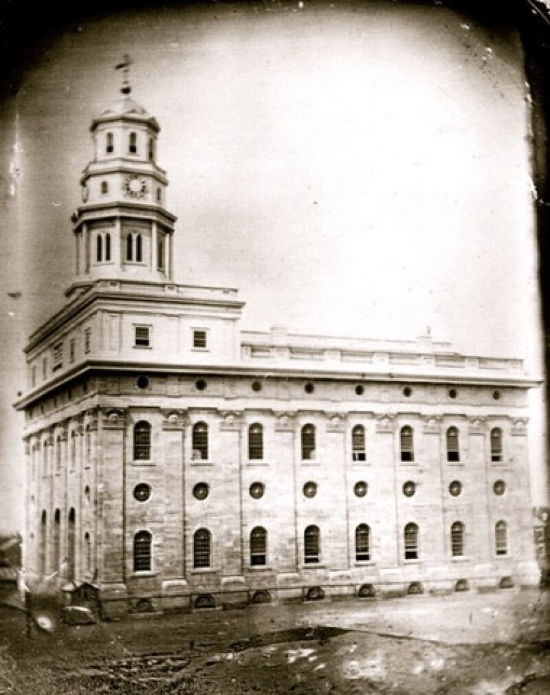 The Nauvoo Temple, which was completed after the death of Joseph Smith (image courtesy Heidi Swinton).