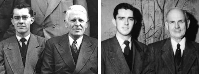 Ballard with mission presidents