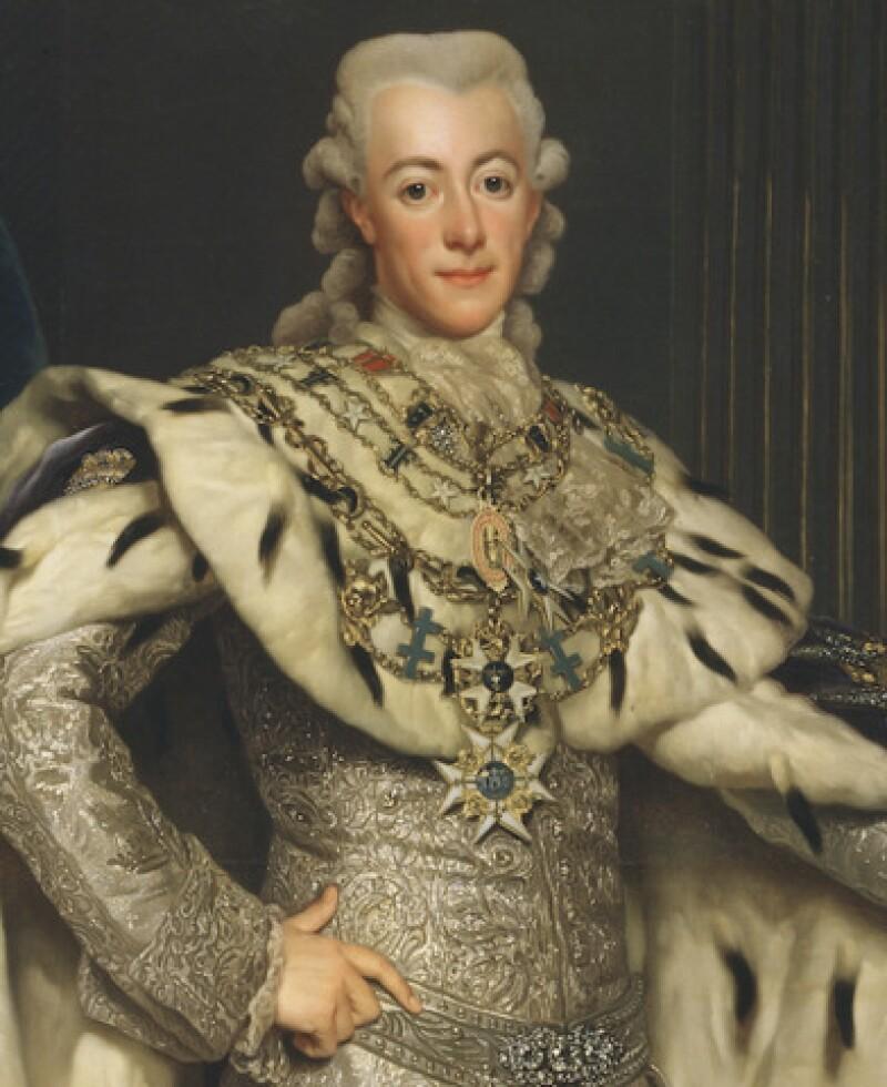 Gustavus III of Sweden (Image from wikimedia.org)