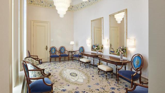 The bride's room in the Rome Italy Temple.