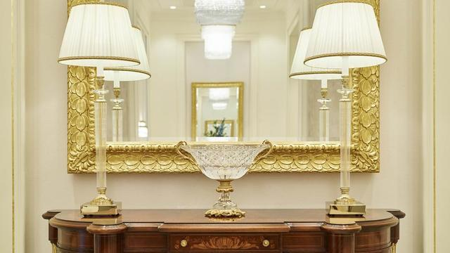The artistic furnishings contribute to the beauty and feelings of reverence in the Rome Italy Temple.