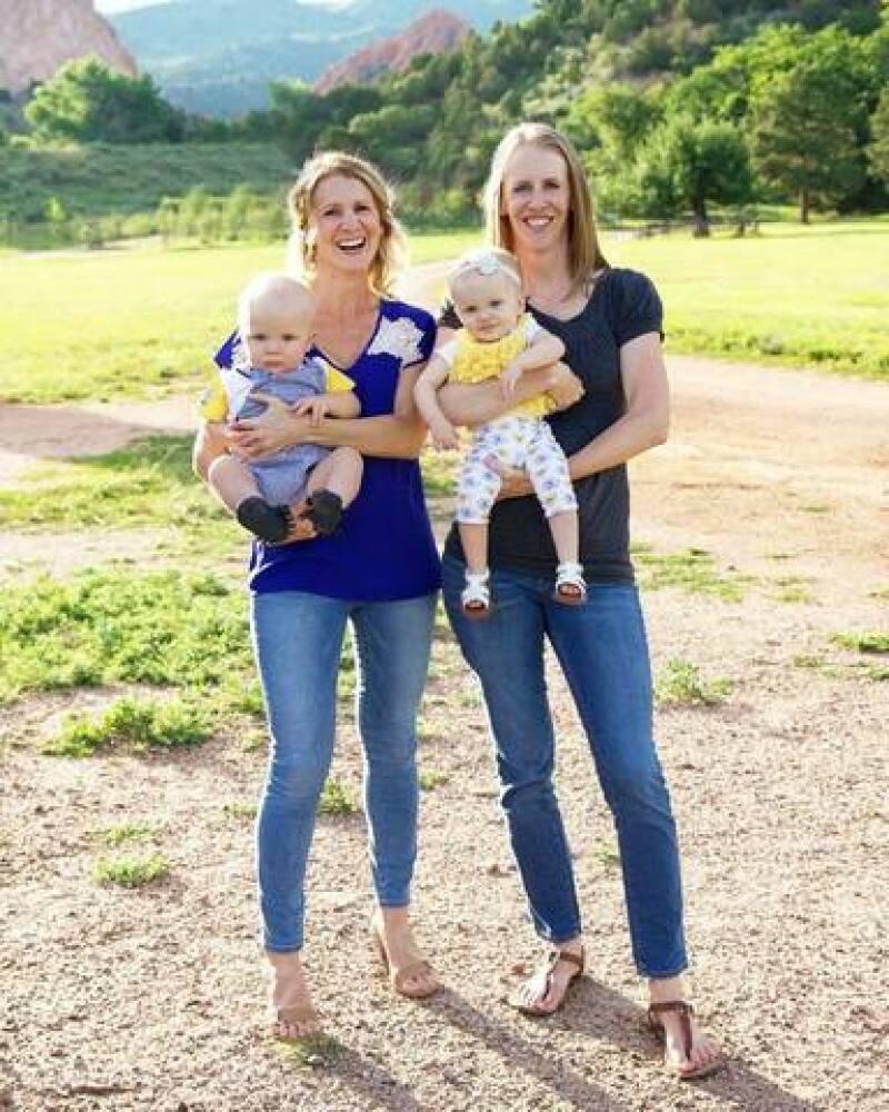 Julie and Brooke