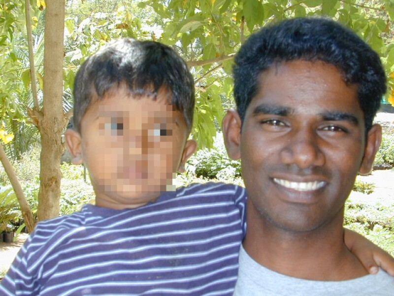 A photo of Gopi, he had a powerful conversation with Becky about seeing God's hand amidst so much suffering.