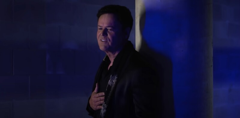 Donny Osmond music video screenshot