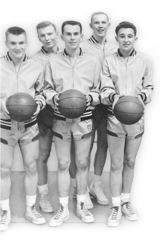 Image titleElder Cook played basketball and football in high school. Image from lds.org.