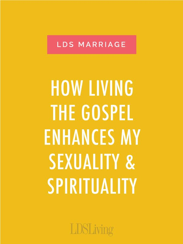 How Living the Gospel Enhances My Sexuality and Spirituality