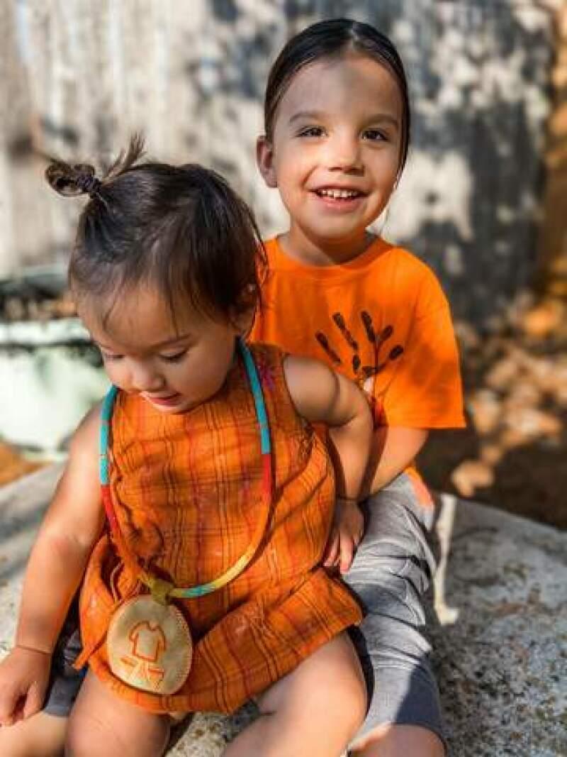 Jalynne's cute little kids.